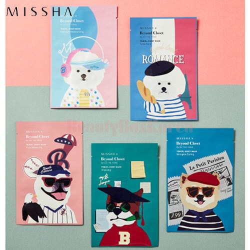 MISSHA Real Solution Tencel Sheet Mask 25g [Beyond Closet Edition]